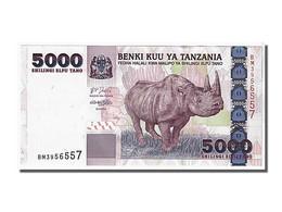 Tanzanie, 5000 Shilingi Type Rhinoceros - Tanzanie