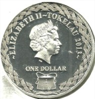 """TOKELAU $1 """"MAN FROM SNOWY RIVER"""" HORSE FRONT QEII BACK 2013 AG SILVER EX-PROOF KM? READ DESCRIPTION CAREFULLY !!! - Monnaies"""