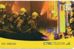 Pompier Fireman Télécarte Phonecard Telefonkarten B244 - Firemen