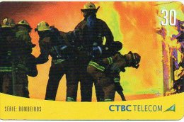 Pompier Fireman Télécarte Phonecard Telefonkarten B247 - Pompiers