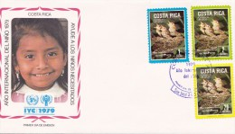 COSTA RICA   - 1979  Briefomslag JAAR VAN HET KIND - Costa Rica