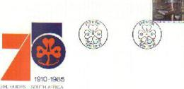 RSA 1985 Cover Mint Girl Guides Scouting Stampnumber 665 - South Africa (1961-...)