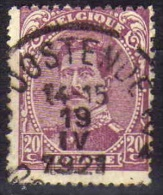 140 Type I Oostende - 1915-1920 Alberto I
