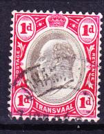 Transvaal - König Edward VII. (Mi.Nr.: 103) 1902 - Gest. Used Obl. - Transvaal (1870-1909)