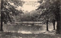 CPA    -     CHAVILLE    -   FORET DE MEUDON   -    L' ETANG DES ECREVISSES - Chaville
