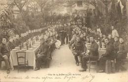 Cpa Fete Du 14 Juillet Au Val De Grace - Militaria
