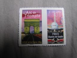 PERSONNALISE - 3599B  ARC DE TRIOMPHE LOGO PRIVE AVION - Frankreich