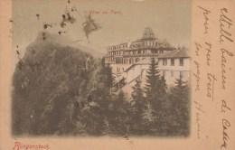 HOTEL DU PARC BURGERSTOCK         6 - 8 -1899 - LU Lucerne