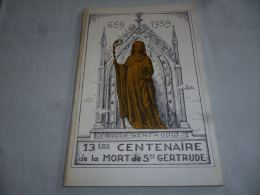 CB9 LC145 Nivelles - 13e Centenaire De La Mort De Sainte Gertrude - 1959. - Belgium