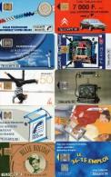 Lot De 10 Télécartes Illustrées. 2 Scans - Télécartes