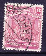 Britische Südafrika-Gesellschaft - Wappen (Mi.Nr.: 62)  1898 - Gest. Used Obl. - Sud Africa (...-1961)