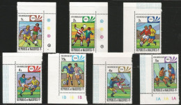 Maldives Mint MNH  Stamp ,Set Of 7,1974 , FIFA World Cup Footbal, Soccer,Football - Coppa Del Mondo