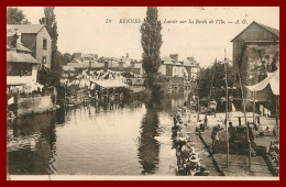 Dept 35  -  Rennes -  Les Lavoirs  (scan Recto Et Verso ) - Rennes