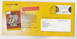 2009 GERMANY Deutsche Post ADVERT POSTAL STATIONERY CHRISTMAS LETTERSHEET   Stamps  Cover - Christmas