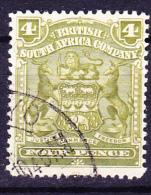 Britische Südafrika-Gesellschaft - Wappen (Mi.Nr.: 63)  1898 - Gest. Used Obl. - Sud Africa (...-1961)