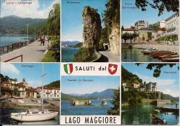 LAGO MAGGIORE  VARESE  Fg  Luino Maccagno Colmegna Porto Valtravaglia - Varese