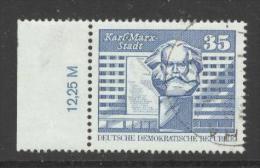 DDR Mi. 1821 RWZ Gest. Karl-Marx-Stadt Karl-Marx-Denkmal - Gebraucht