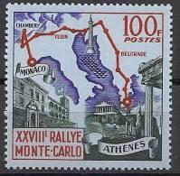 "Monaco YT 510  "" 28e Rallye Automobile "" 1959 Neuf ** - Unused Stamps"