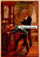 Chromo Chocolat DEVINCK - Où Diable Est Ma Bouteille De Cognac !!..-  Scans Recto Verso - Chocolat