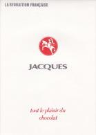 Ensemble De Chromos - Chocolat Jacques - La Révolution Française - Jacques