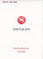 Ensemble De Chromos - Chocolat Jacques - Vincent Van Gogh - Jacques