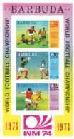 Barbuda Hb Michel 8 SIN DENTAR - Coppa Del Mondo