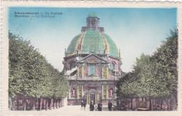 Scherpenheuvel De Basiliek 1948 Mooie Stempel Postzegel Gekarteld (In Zeer Goede Staat) - Scherpenheuvel-Zichem