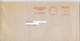 EMA Santé,cente Hospitalier De Roubaix,lettre Obliterée 59 Roubaix Quartier Du Pile 30.3.1989 - Medicine