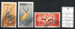 1958 SOMALIA Animali Animals Serie Completa Usata - Somalia (1960-...)
