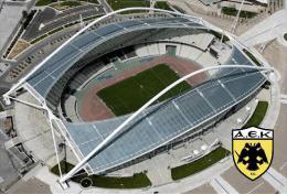 Stadium Olympic Spyros Louis (AEK Athens,Greece) Postcard - Size: 15x10 Cm. Aprox - Fútbol