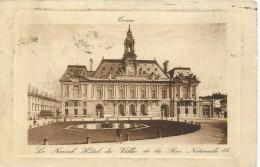 Tours Hotel De Ville Et La Rue Nationale - Tours