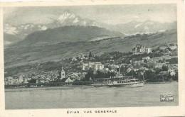 Evian Vue Generale - Evian-les-Bains