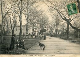 ALAIS(GARD) CARTE PANORAMIQUE DOUBLE - Alès