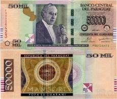 PARAGUAY       50,000 Guaraníes       P-232c       2011       UNC  [ 50000 ] - Paraguay
