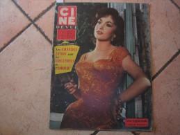 CINE REVUE N� 42 ( OCTOBRE -1958 ) GINA LOLLOBRIGIDA - FERNANDEL - Dos: ROLAND LESAFFRE & ANDREA PARISY