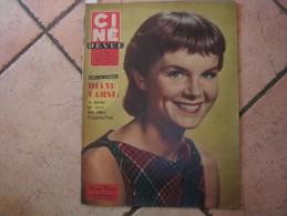 CINE REVUE N� 46 ( DECEMBRE -1958 ) DIANE VARSI - AUDREY HEPBURN - Dos: GREGORY PECK