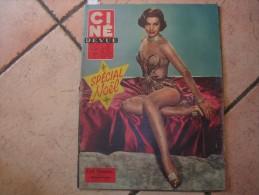 CINE REVUE N� 49 ( DECEMBRE -1958 ) CYD CHARISSE - BRIGITTE BARDOT / GEORGES BRASSENS
