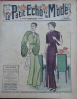 Le Petit Echo de la Mode n� 47 24 Novembre 1935 Mode ann�es 30