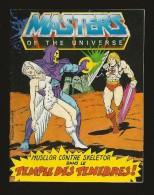 """PETITE BD LES MAITRES DE L'UNIVERS """" TEMPLE DES TÉNÈBRES ! , MUSCLOR CONTRE SKELETOR 1983 - Books, Magazines, Comics"""