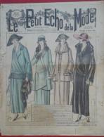Le Petit Echo de la Mode n� 6 10 F�vrier 1924 Mode ann�es folles