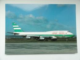 CARTE POSTALE POSTCARD CAMEROON AIRLINES BOEING 747 - 1946-....: Moderne