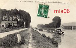 LES MUREAUX Le Barrage Et Le Canal De L'écluse - Les Mureaux