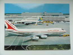 CARTE POSTALE POSTCARD BOEING 747 B FRANKFURT - 1946-....: Moderne