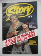 - STORY. Le magazine du suspense N� 1 - Roman photo. Dominique VALERA