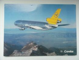 CARTE POSTALE POSTCARD CONDOR DC 10-30 - 1946-....: Moderne