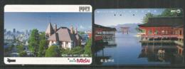 Magnifiques Paysages Du Japon, Sur 2 Telecard Japonaises, Parfait état. - Paysages