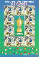 BLOC FEUILLET 26, COUPE DU MONDE DE RUGBY 1999 - Sheetlets