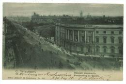 Russie // St.Petersbourg, Perspective De Nevsky - Russie