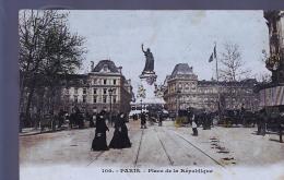 PARIS PLACE REPUBLIQUE COLORISEE - Distrito: 10