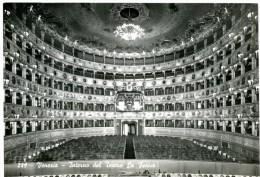 Venezia. Interno Del Teatro La Fenice. Théâtre La Fenice - Intérieur. Inside. Theater - Innere. - Venezia